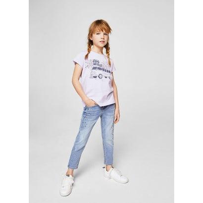 Tシャツ .-- CANDY (パステルパープル)