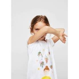 Tシャツ .-- PLANTLO (ナチュラルホワイト)
