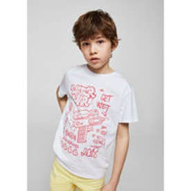 Tシャツ .-- ALE (ホワイト)