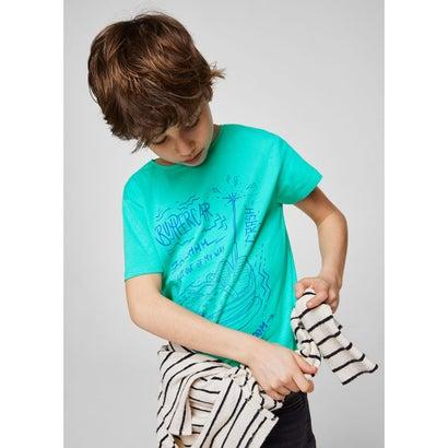 Tシャツ .-- ALE (グリーン)
