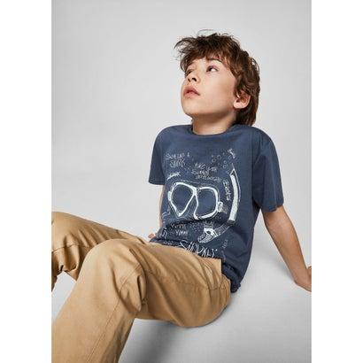 Tシャツ .-- ALE (ネイビーブルー)