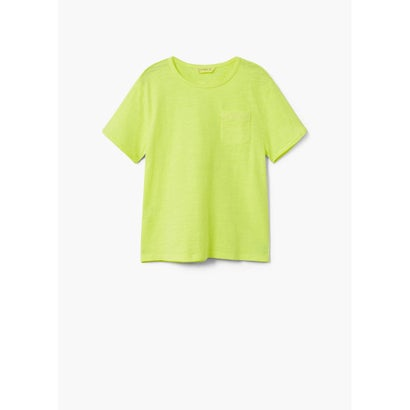 Tシャツ .-- BENJAMIN (ブライトイエロー)