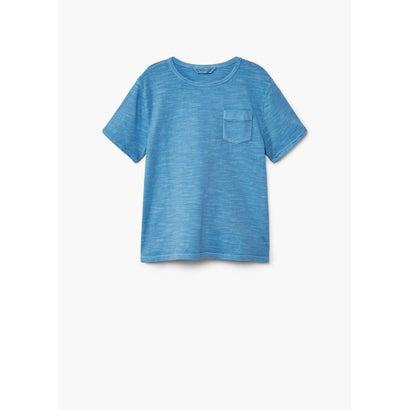 Tシャツ .-- BENJAMIN (ミディアムブルー)