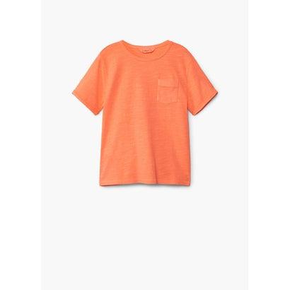 Tシャツ .-- BENJAMIN (ブライトオレンジ)