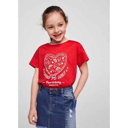 Tシャツ .-- FOODIES (レッド)