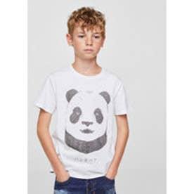 Tシャツ .-- FIERCE (ホワイト)
