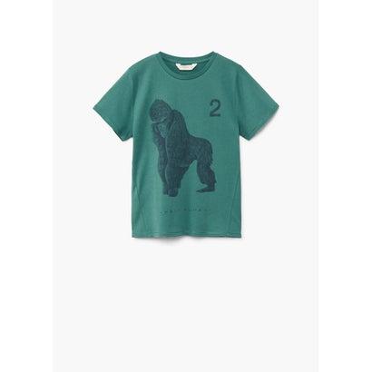Tシャツ .-- FIERCE (ブライトグリーン)