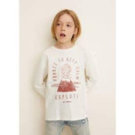 Tシャツ .-- SPENCER3 (ナチュラルホワイト)