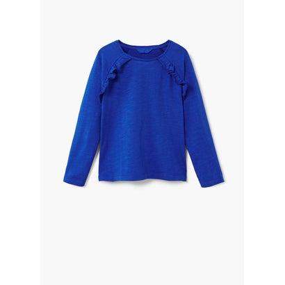 Tシャツ .-- CARLOTAR (ミディアムブルー)