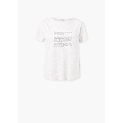 スポーツ Tシャツ .-- WORDS (パステルグレー)