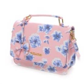 リズリサ LIZ LISA ファエリーフラワープリント2Wayミニショルダーバッグ(ピンク)