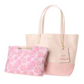 リズリサ LIZ LISA ロペラ バッグインバッグ付トートバッグ(大) (ピンク)