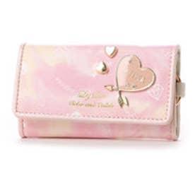 リズリサ LIZ LISA ホイップ ハートブローチ&ハートプリントキーケース (ピンク)
