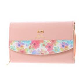 リズリサ LIZ LISA キャンデー 部分花柄お財布ポシェット (ピンク)