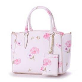 40e8f421cf64 ミッシュマッシュ MISCH MASCH デイシーシリーズ 花柄2WAYバッグ (ピンク)