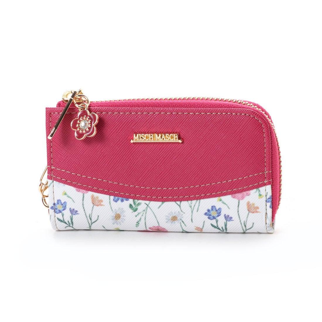 d1d960aac405 ミッシュマッシュ MISCH MASCH オペラ 花柄キーケース (ピンク) -レディースファッション通販 ロコンドガールズコレクション  (LOCONDO GIRL'S COLLECTION)