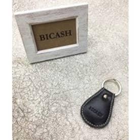 ビカーシ BICASH レザーキーホルダー (BLACK)