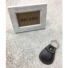 ビカーシ BICASH レザーキーホルダー (DK.BROWN)
