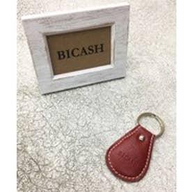 ビカーシ BICASH レザーキーホルダー (RED)