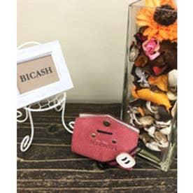 ビカーシ BICASH スエードコインケース (RED)