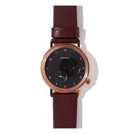 KOMONO 腕時計 BURGUNDY1