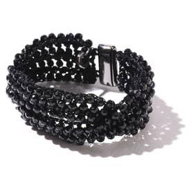 ブラックビーズブレスレット 1#BLACK1