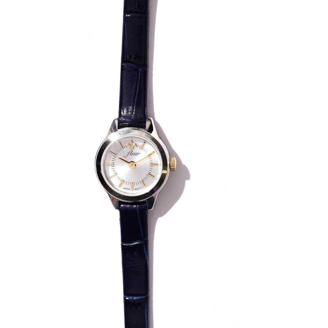 Fleur 腕時計 ネイビー1