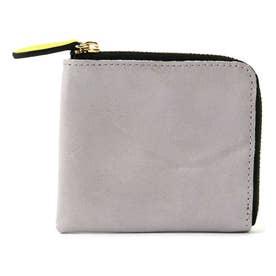 ミニ財布 グレー1
