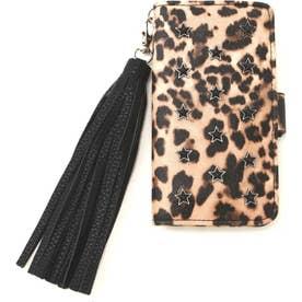 レオパードプリントiPhone8ケース ブラウン1