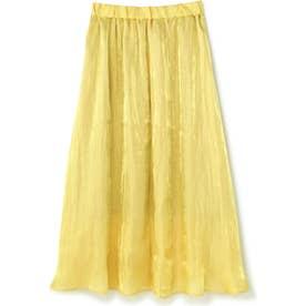 ロングギャザースカート YELLOW LT