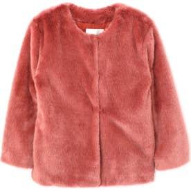 [ViVi12月号掲載]カラーファージャケット ピンク1