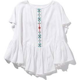 刺繍ブラウス WHITEMID1