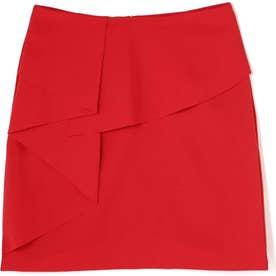 フリルペンシルスカート RED1