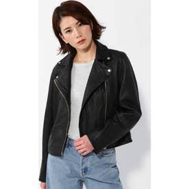 ライダースジャケット ブラック1