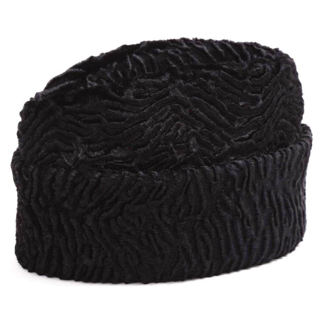 凹凸ニット帽BLACK1