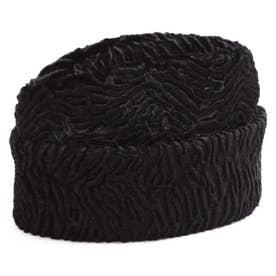 凹凸ニット帽 BLACK1