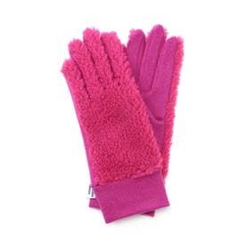 カラーボアグローブ ピンク1