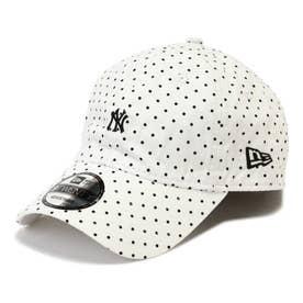 メンズニューヨークヤンキースキャップ BLACK DOT1