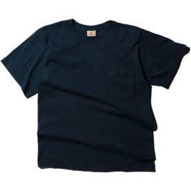 半袖コットンTシャツ NAVY1