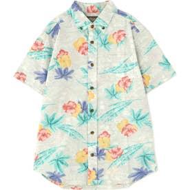 メンズAlohaシャツ ベージュ1