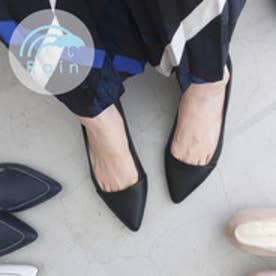 リズテリ LIZteLIZ 【22.5-27cm】【人工皮革】【レイン】ポインテッドパンプス(215001/1.5cmヒール) (クロスムース)