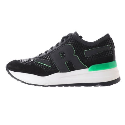 ルコライン RUCO LINE 8449 LOLLO K M BLACK/GREEN (BLACK/GREEN)