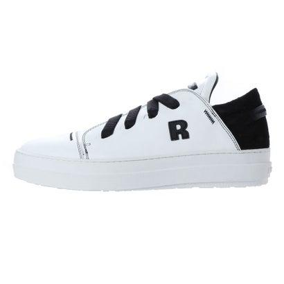 ルコライン RUCO LINE 2375 VELOUR VIP WHITE BLACK (WHITE BLACK)