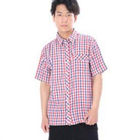 アーノルドパーマー arnold palmer 2重ガーゼチェックシャツ (レッド)