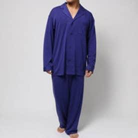 コンフォートインデックス COMFORT INDEX デュルウォームオープンカラーパジャマ (パープル)