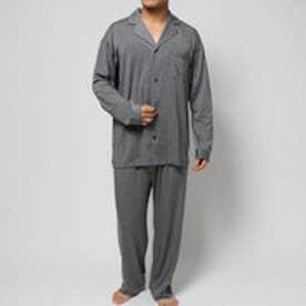 コンフォートインデックス COMFORT INDEX デュルウォームオープンカラーパジャマ (グレー)