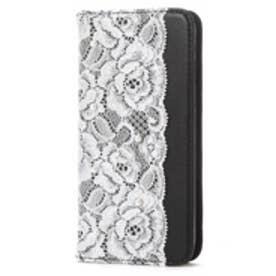 アビィ ニューヨーク abbi NEW YORK iPhone6s/6 Lace Diary (ブラック)