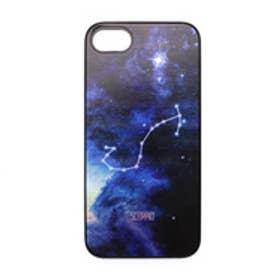 ディーパークス DPARKS iPhone7 Twinkle Case Black さそり座(Scorpio) (ブラック)