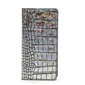 ゲイズ GAZE iPhone6 Hologram Croco Diary(シルバー)