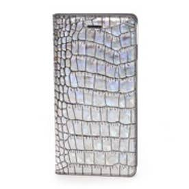 ゲイズ GAZE iPhone6 Plus Hologram Croco Diary(シルバー)